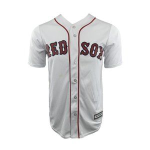 Majestic Men's Boston Red Sox Baseball Jersey Sz S